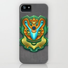 Summer Totem Green iPhone Case