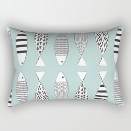 Nordic fish Rectangular Pillow