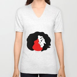 Little Red Riding Hood (1) Unisex V-Neck
