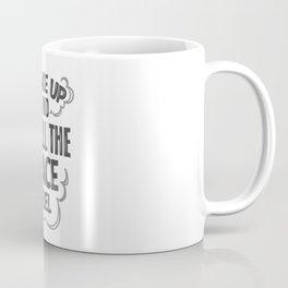 wake up and smell the race fuel Coffee Mug