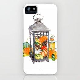 Autumn Vignette iPhone Case