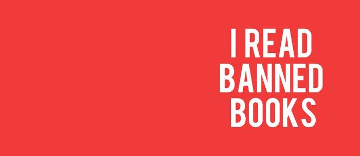 I Read Banned Books - White Font Coffee Mug