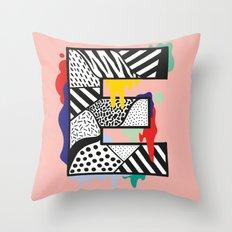 E for …. Throw Pillow