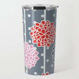 Blossom pattern with dots Travel Mug