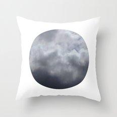 Planetary Bodies - Cloud Throw Pillow