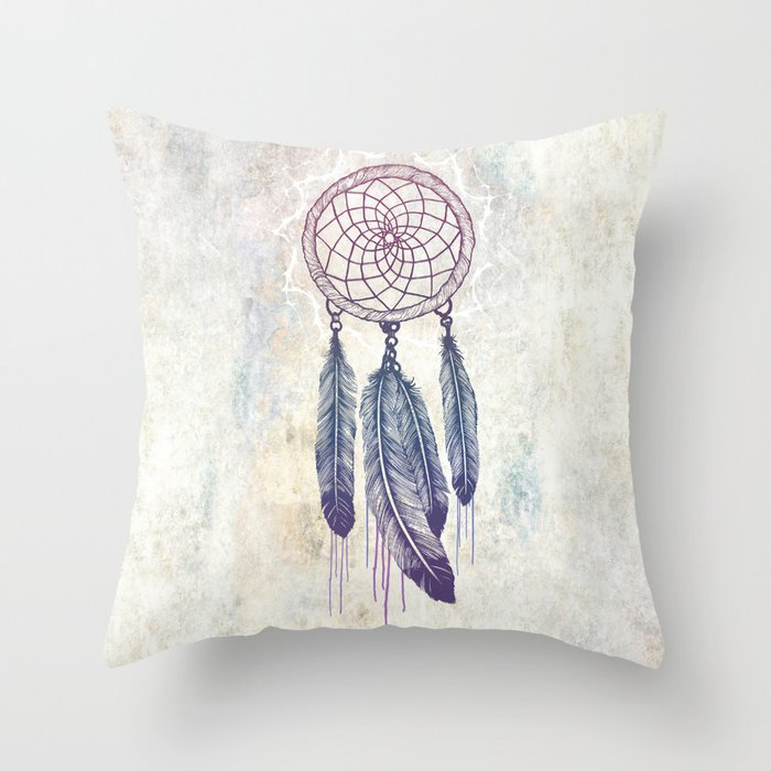 Catching Your Dreams Throw Pillow