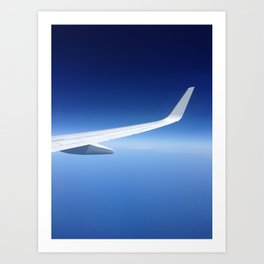 On the wing Art Print