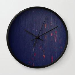 Le Chemin De Croix Wall Clock