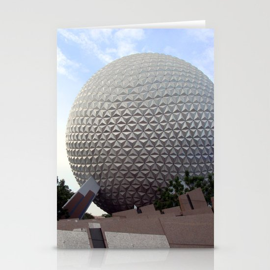 Spaceship Earth Stationery Cards