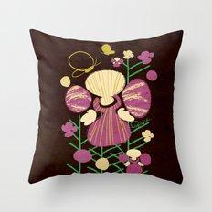 Floral Flower Artprint Throw Pillow