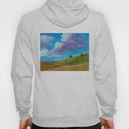 Early Autumn Open Air Landscape Hoody