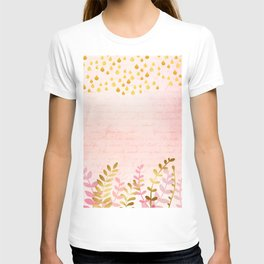 Orchid pink - golden rainforest T-shirt