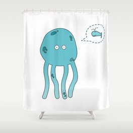 octopus* Shower Curtain