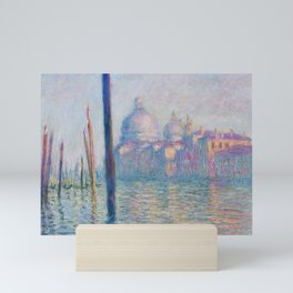 Le Grand Canal by Claude Monet Mini Art Print