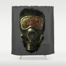 Spores Shower Curtain