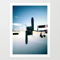 Landscapes (Los Angeles #5) Art Print