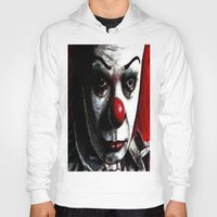 pennywise Hoodies featuring Pennywise by Alycia Plank