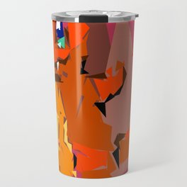 Legally Safe Fire Lizard Travel Mug