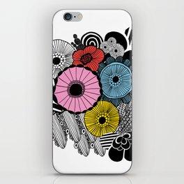 Heart in Flowers, inspired by Marimekko iPhone Skin