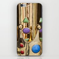 crown iPhone & iPod Skins featuring Crown by Massimo Merlini