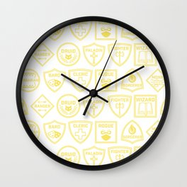 Choose Your Class: Tile Wall Clock