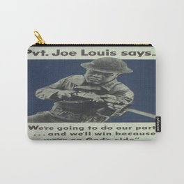 Vintage poster - Private Joe Louis Carry-All Pouch