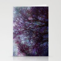 artsy Stationery Cards featuring artsy tree by Stephanie Koehl