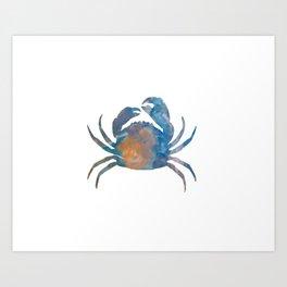 A Crab Art Print