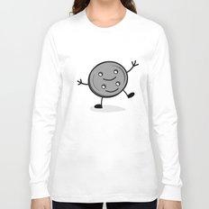 Siamese Twin Button Long Sleeve T-shirt