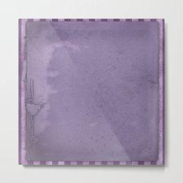 Violets are blue xxx Metal Print