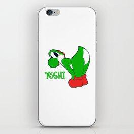 Yoshi Backside iPhone Skin