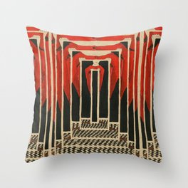 criticism to critique Throw Pillow