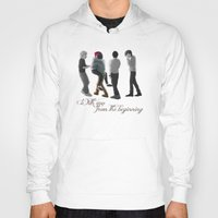 1d Hoodies featuring 4 Years of 1D by Aki-anyway