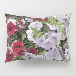 Cascade Of Petunias Pillow Sham