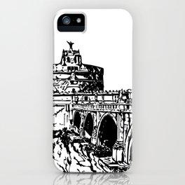 Castel Sant'Angelo, Rome iPhone Case