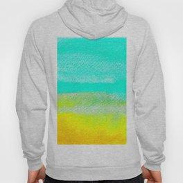 Calm Waters Watercolor Texture Hoody
