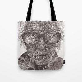 Heavy glasses Tote Bag