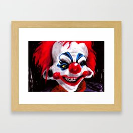 It Was Not A Circus Tent, It Was Something Else Framed Art Print