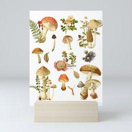 Mushroom Dreams Mini Art Print