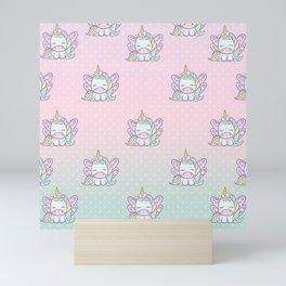 Blossom The Magical Unicorn Mini Art Print