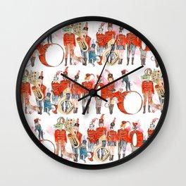 Marching Band Wall Clock