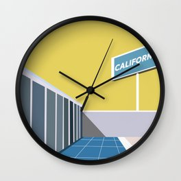 Ruscha Wall Clock
