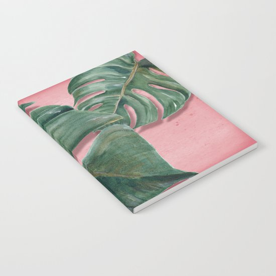 monstera leaf  Notebook