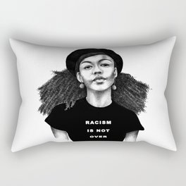 Racism is not over Rectangular Pillow