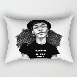 Racism is not over Rectangular Pillow