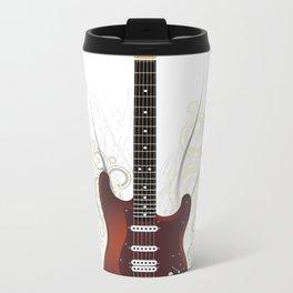 Guitar electro Metal Travel Mug