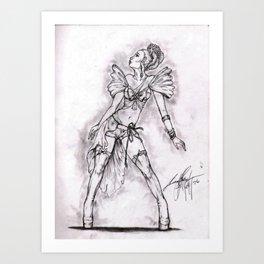 Lady of Dance Art Print