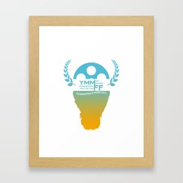YMMiFF 2015 - BUFFALO HEAD DESIGN Framed Art Print