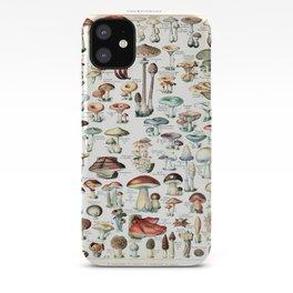 Adolphe Millot - Champignons pour tous - vintage poster iPhone Case
