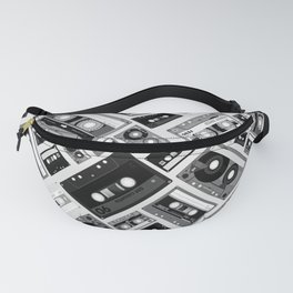 Retro cassette tape pattern 6 Fanny Pack